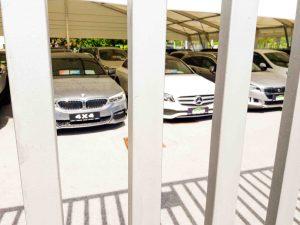Kje so shranjena zasežena vozila s strani policije?